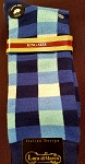 Big and Tall- Shades of Blue Dress Socks- Size 13-16 Shoe