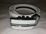 Holeless Belt- White-up to 44