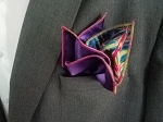 Double Sided Explosive Color Pocket Square