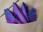 Limited Edition Shades of Purple Pocket Square