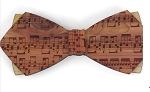 Wooden Bow Tie- R.M. Dyllon Ph. D.