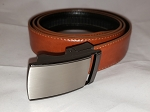 Holeless Belt- Tan-up to 50