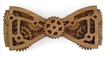 Wooden Bow Tie- C.C. Maximus D. Phil Moving Wood Gear